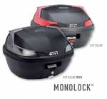GIVI MONOLOCK TOP BOXES  maximum load: 3 kg